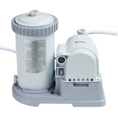 Intex 2500 GPH Cartridge Filter Pump For Above Ground Swimming Pool #28634