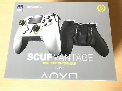 Playstation 4 Pro SCUF Vantage Wireless Controller BRAND NEW SEALED