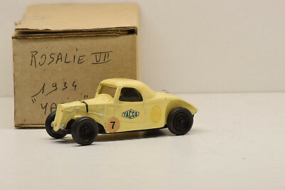 Citroen Rosalie Vii Yacco 1934 France Miniature 1/43 Montage Usine