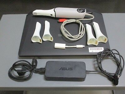 Used E4D Nevo Dental Scanner w/ Laptop & 4 Tips for CAD/CAM Restorations