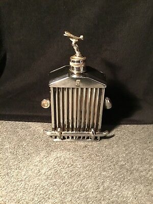 Ancienne calandre ROLLS ROYCE bouteille musical scotch  whisky