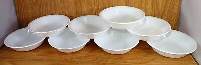 "Corelle 5 3/8"" WINTER FROST WHITE Berry Bowls Set of 8"