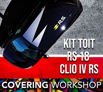 Kit toit RS 18 Clio 4 RS Renault Sport