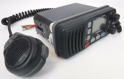 Icom IC-M304 Marine VHF Radio with HM-164B Hand PII Microphone TESTED