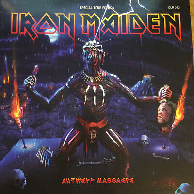 Iron Maiden - Massacre Road Show 2Lp Ultrarare Picture Disc Collector Poster !!!