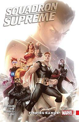 Squadron Supreme Vol. 3: Finding Namor by Robinson, James, NEW Book, FREE & Fast