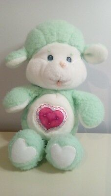 """Vintage Care Bears cousins 13"""" plush Gentle Heart Lamb 4$ more to ship other"""