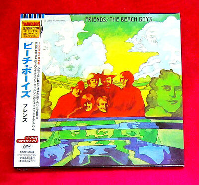 The Beach Boys Friends MINI LP CD JAPAN TOCP-50862