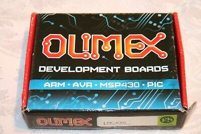 OLIMEX PIC-ICD2 DEVELOPMENT BOARD MPLAB COMPATIBLE ICD2 with USB & RS232