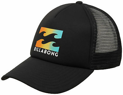 9db81aa0bfc BILLABONG STACKED TRUCKER Hat - Black - New -  24.95