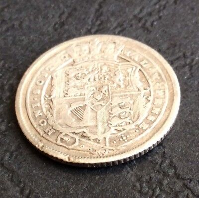 GEORGE III: 1816 Sixpence (6d.)      (Ref:BB48)