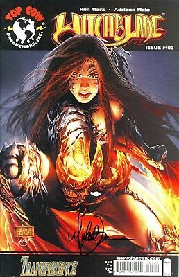 Witchblade #103 Signed By Artist Michael Turner
