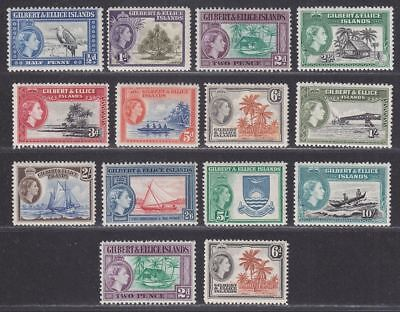 Gilbert and Ellice Islands 1956 Queen Elizabeth II Mint Set SG64-75 cat £70