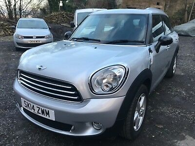 2014 Mini Countryman One 1.6 Low Miles 26K Silver Non Runner Spares Or Repair