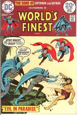 Worlds Finest 222 Vf-Nm Last 20 Cent Cover Comics Book