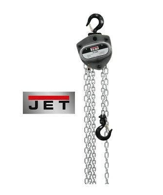 "JET ""L100-Series"" 1/2-Ton Chain Hoist with 15' Lift ~ Model: L100-50-15"