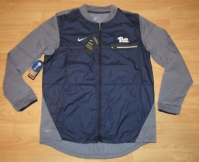 5f735749a448 Nike Pitt Panthers Shield Full Zip On-Field Blue Grey Jacket size Men s  Large
