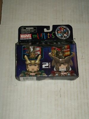 Marvel Minimates LOKI & ODIN Series 39 Thor The Mighty Avenger NEW