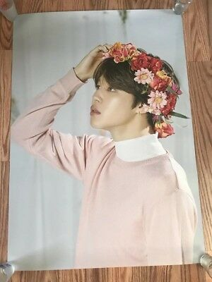 New Official BTS Love Yourself World Tour MD Limited JIMIN Poster