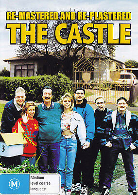 THE CASTLE Michael Caton DVD R4 - New / Re-Mastered Re-Plastered PAL  SirH70