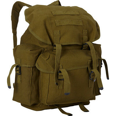 Fox Outdoor Large NATO Style Rucksack - Olive Drab Everyday Backpack NEW