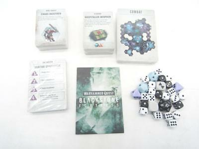 Warhammer Quest 40k Blackstone Fortress Dice Cards & Vault Envelope (wDEH)