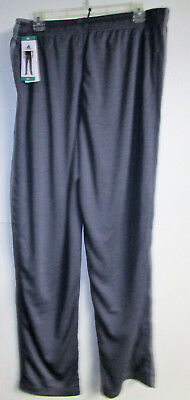 NWT Mens ADIDAS CLCRE 3 Stripe Active Climalite Pants Heather Navy Size X-Large