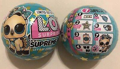 LOL Surprise Pets Supreme Lucky Luxe Pet Doll Ball L.O.L.Limited Edition IN HAND