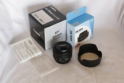 Canon EF 50mm F/1.8 STM Diameter 49mm Prime Lens Black