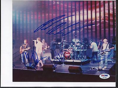 7961 3 Doors Down Band Signed 8x10 Photo PSA/DNA LOA Autograph AUTO