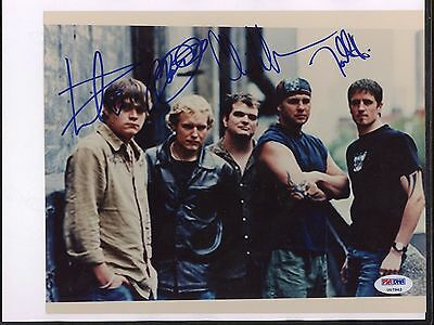 7962 3 Doors Down Band Signed 8x10 Photo PSA/DNA LOA Autograph AUTO
