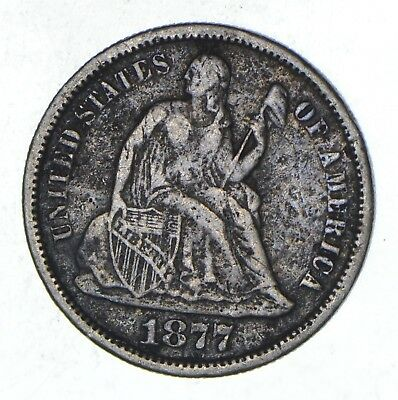 Full Liberty - 1877-S Seated Liberty Silver Dime *795