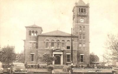 Ozark, Arkansas - Franklin County Court House - 1940's