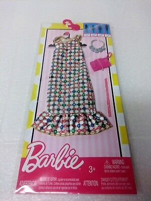 New Barbie Doll Outfits With Accessories  By Mattel