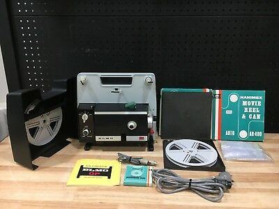 Elmo Gp-E Slow Motion 8 Mm Film Projector Super 8  Japan - Good Condition