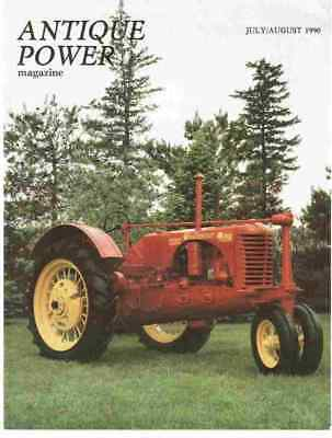 Massey Harris Twin Challenger tractor, 7/8 1990 Antique Power magazine