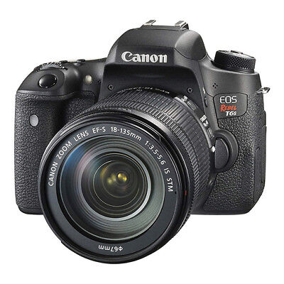 NEW Canon EOS Rebel T6s DSLR Camera with EF-S 18-135mm f/3.5-5.6 IS STM Lens