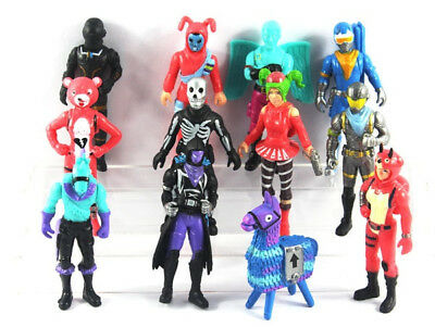HOT 12Pc/Set Fortnite Character Toy Gamer Action Figure Playset Model Xmas Gift
