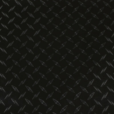 "24"" X 5yd - Black Diamond Plate -*LVG InterCal*- Sign & Graphic Vinyl Film"