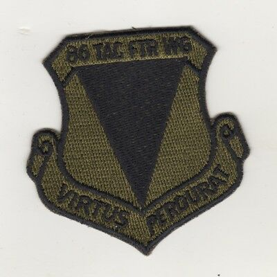 Patches AIR FORCE 86th Fighter Wing VIRTUS AIR BASE RAMSTEIN
