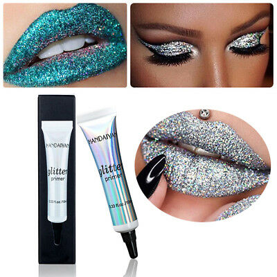 Glitter Eyeshadow Base Make Up Cream Primer Shiny Face Cosmetic Long Lasting New