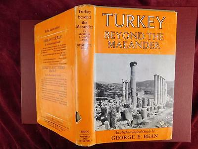 TURKEY BEYOND the MAEANDER by GEORGE E.BEAN/GREEK CARIA/1971 1st