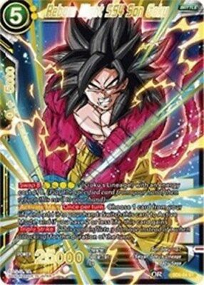 Reborn Might SS4 Son Goku (Foil Version) - SD5-04 - ST Starter Deck Singles