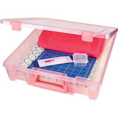 "Artbin Super Satchel Single Compartment-15.25""x14""x3.5"" Coral"