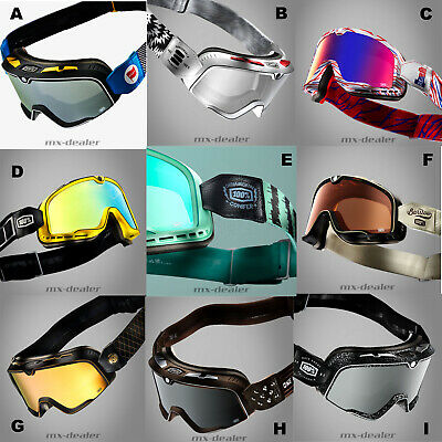 100 % Prozent Barstow Caferacer Custom Scrambler Cross Classic Brille alle