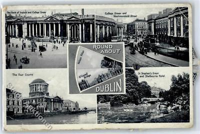 51131776 - Dublin Leporello, The Four Courts, St. Stephen´s Green and
