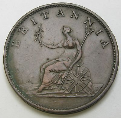 GREAT BRITAIN 1/2 Penny 1806 - Copper - George III. - VF - 3069