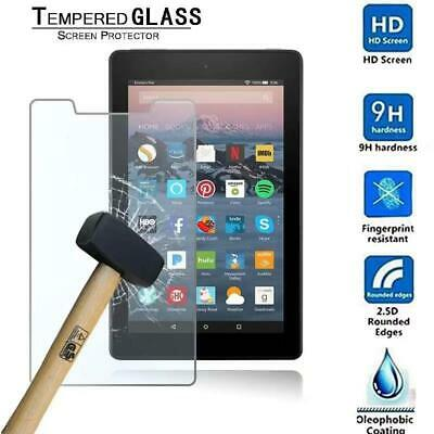 Tablet Tempered Glass Screen Protector For Amazon Kindle Fire 7 (7th Gen 2017)