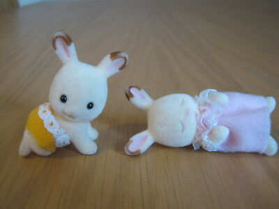Sylvanian Families - Flair Release Chocolate Rabbit Twins