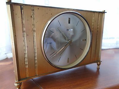Bentima Mantel clock stunning brass case